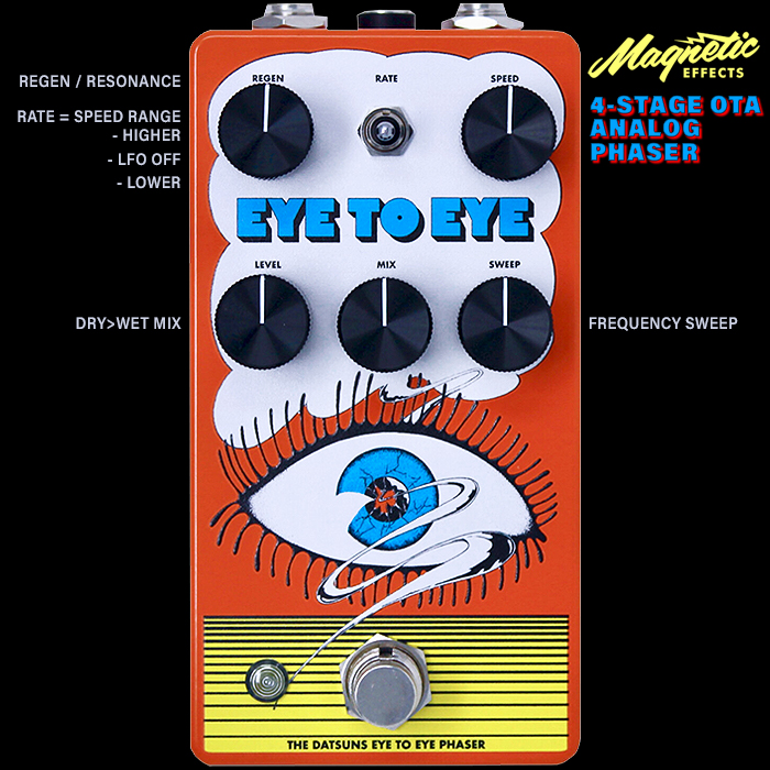 Magnetic Effects' Christian Livingstone Delivers Signature 4-Stage OTA Analog Phaser to commemorate his Band - The Datsuns' Recent 'Eye to Eye' Album Release
