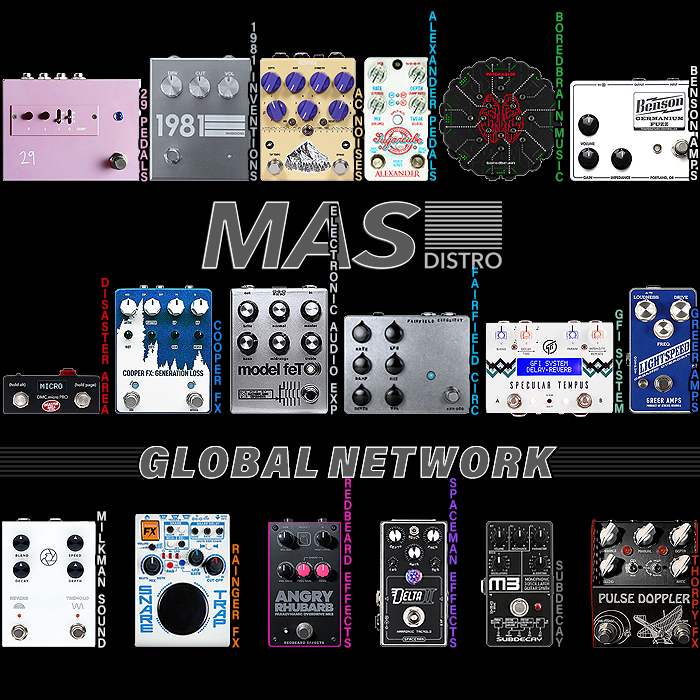 All you ever wanted to know about Leading Global Effects Pedals Distributor - MAS Distro