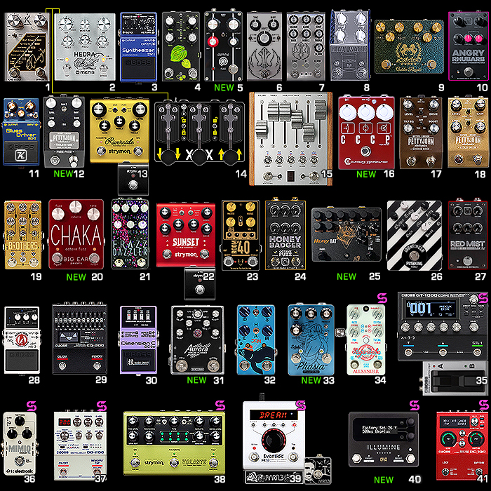 2021 August Pedal-Chain Update - Episode VIII - Good Reverberations